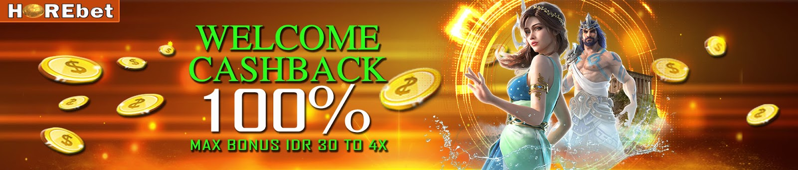 Welcome Cashback 100 Wcb Horebet March 2020