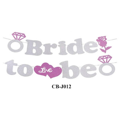 Bunting Garland Bride To Be CB-J012