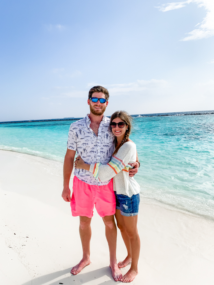 Honeymoon in Maldives - Chasing Cinderella