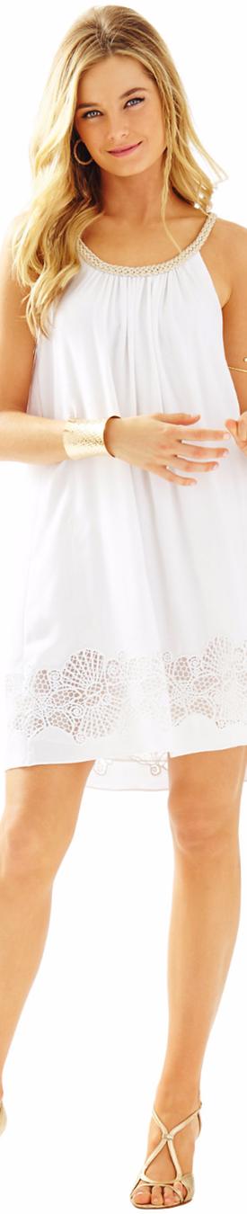 Lilly Pulitzer Sienna Dress Resort White