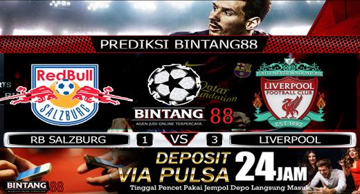 PREDIKSI RB SALZBURG VS LIVERPOOL 11 DESEMBER 2019