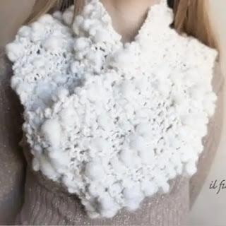 Bufanda Eleganza a Crochet