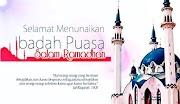 Persiapan Bertemu Ramadan