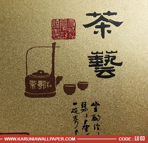 jual wallpaper dinding silver ala china surabaya karuniawallpaper