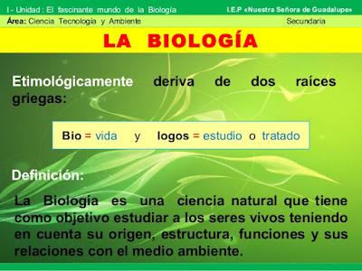 ¿Que es la Biología?