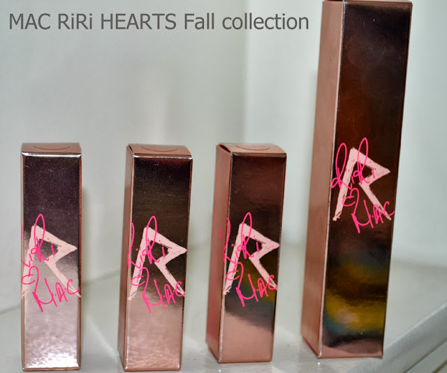 Mac - Riri - Hearts - Fall 2013 - range - swatches -review