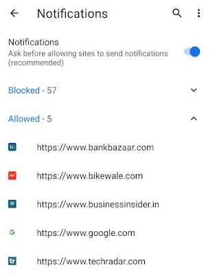 Disable Chrome notifications