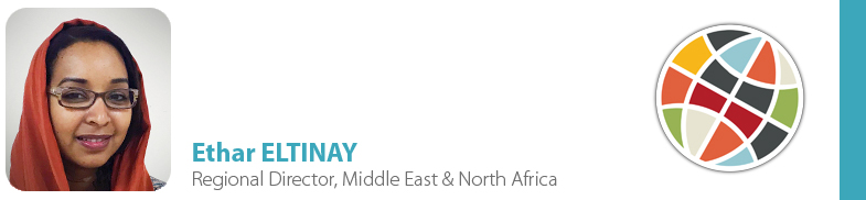 Ethar ELTINAY, IYF Regional Director - Middle East & North Africa