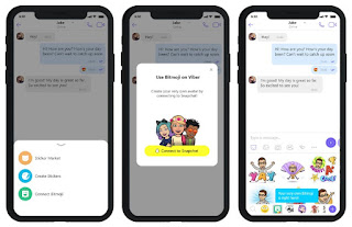 Snapchat-Filter werden in Viber angezeigt 1