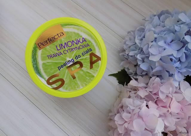 Limonka i trawa cytrynowa- peeling do ciała, Perfecta