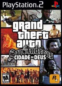 Grand Theft Auto Cidade de Deus PS2 ISO (Ntsc) MG-MF