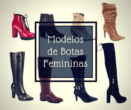 Top 9 Principais Modelos de Botas Femininas