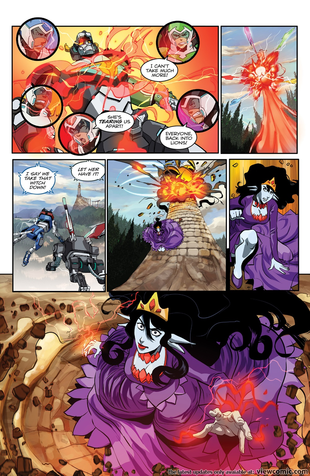 Voltron – Legendary Defender 003 (2016) | Viewcomic reading