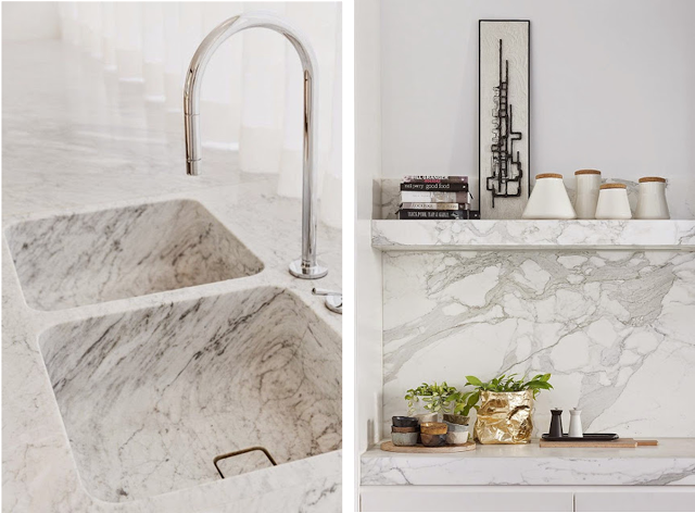 Decoraconmar a moda para el hogar marmol blanco for Con que se limpia el marmol