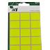Yellow Rectangle 19x25mm