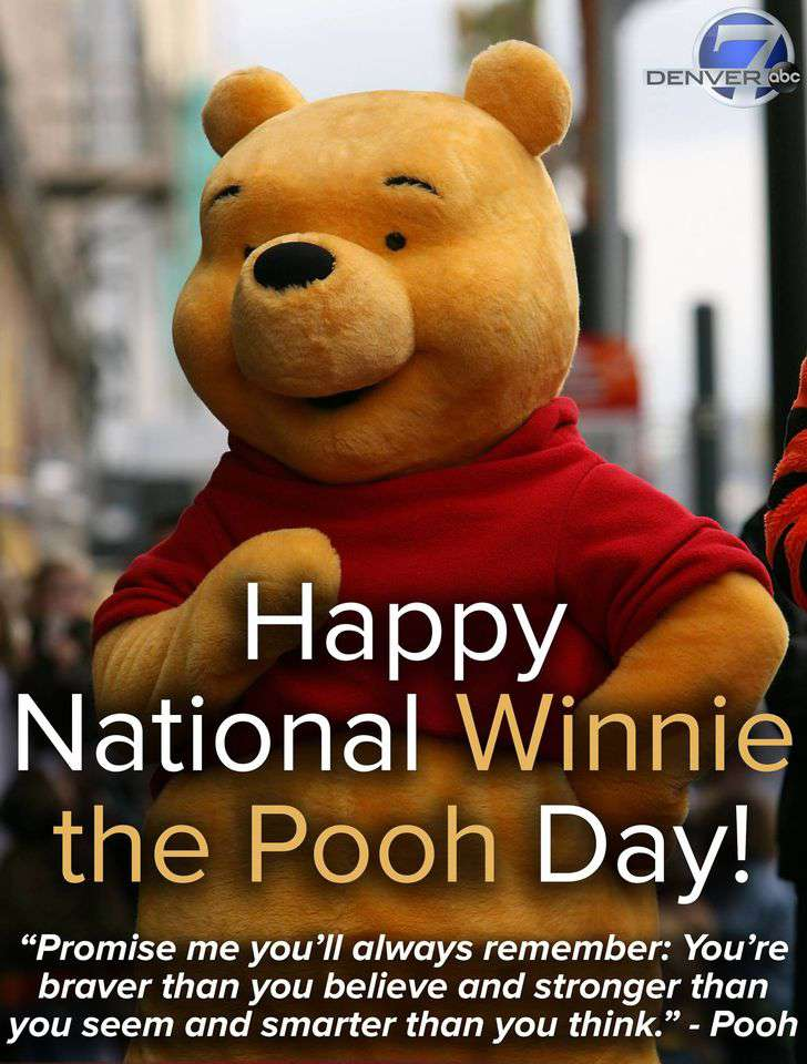 National Winnie the Pooh Day Wishes for Instagram