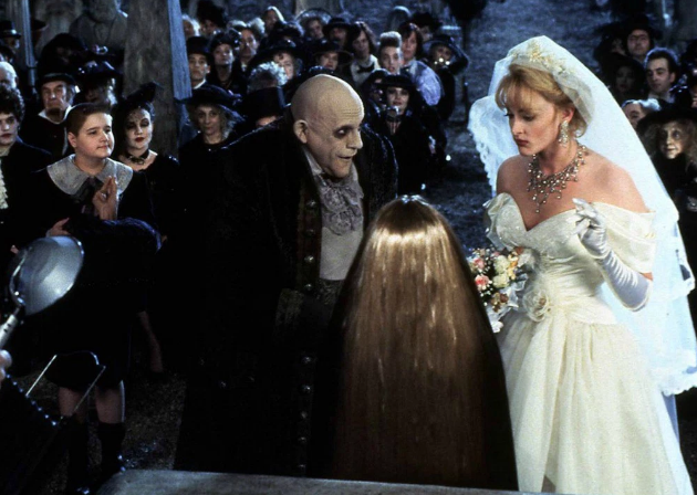 Uncle Fester and Debbie in Addams Family Values