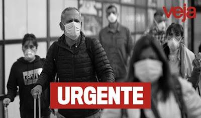 URGENTE: Brasil tem primeiro caso com morte do novo coronavírus