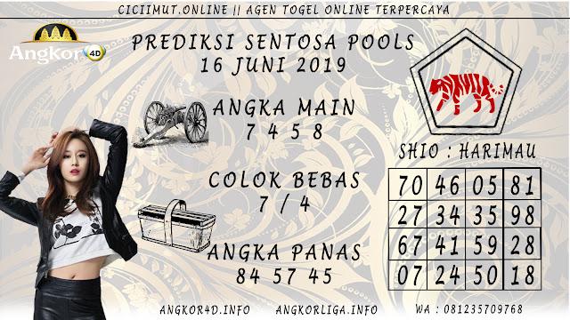 PREDIKSI SENTOSA POOLS 16 JUNI 2019