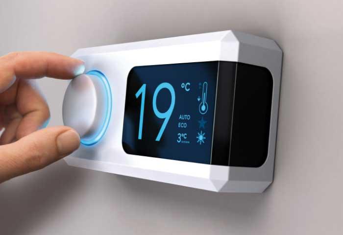 Instalaciones eléctricas residenciales - Control de temperatura de un aire acondicionado