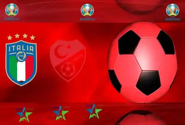 منتخب ايطاليا,منتخب تركيا,افتتاحية يورو 2020