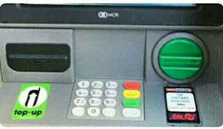 fungsi tombol pada mesin atm