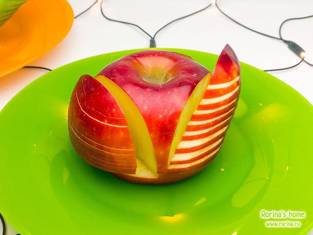 Яблоки для украшения стола