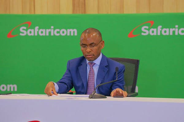 Safaricom PLC CEO Peter Ndegwa