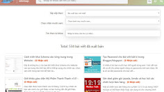 Code làm sitemap cho blogspot cực đẹp theo nhãn