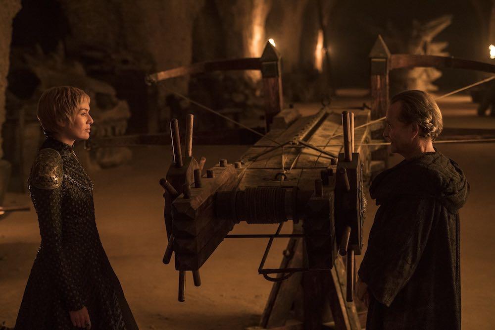 Cercei y Qyburn en 'Stormborn'