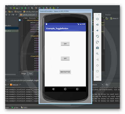 Android Studio - ToggleButton