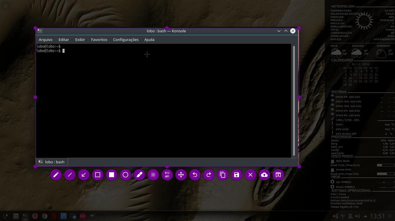 Linux dicas e suporte: Print screen com Flameshot para