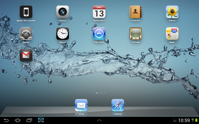 iLauncher The iPhone and iPad interface on your Android