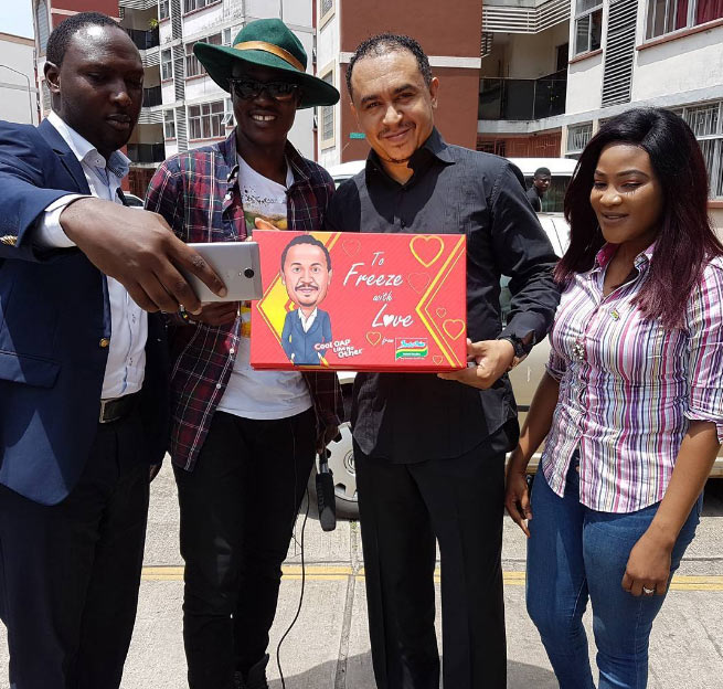 Freeze gets customized Indomie noodles from Sound Sultan