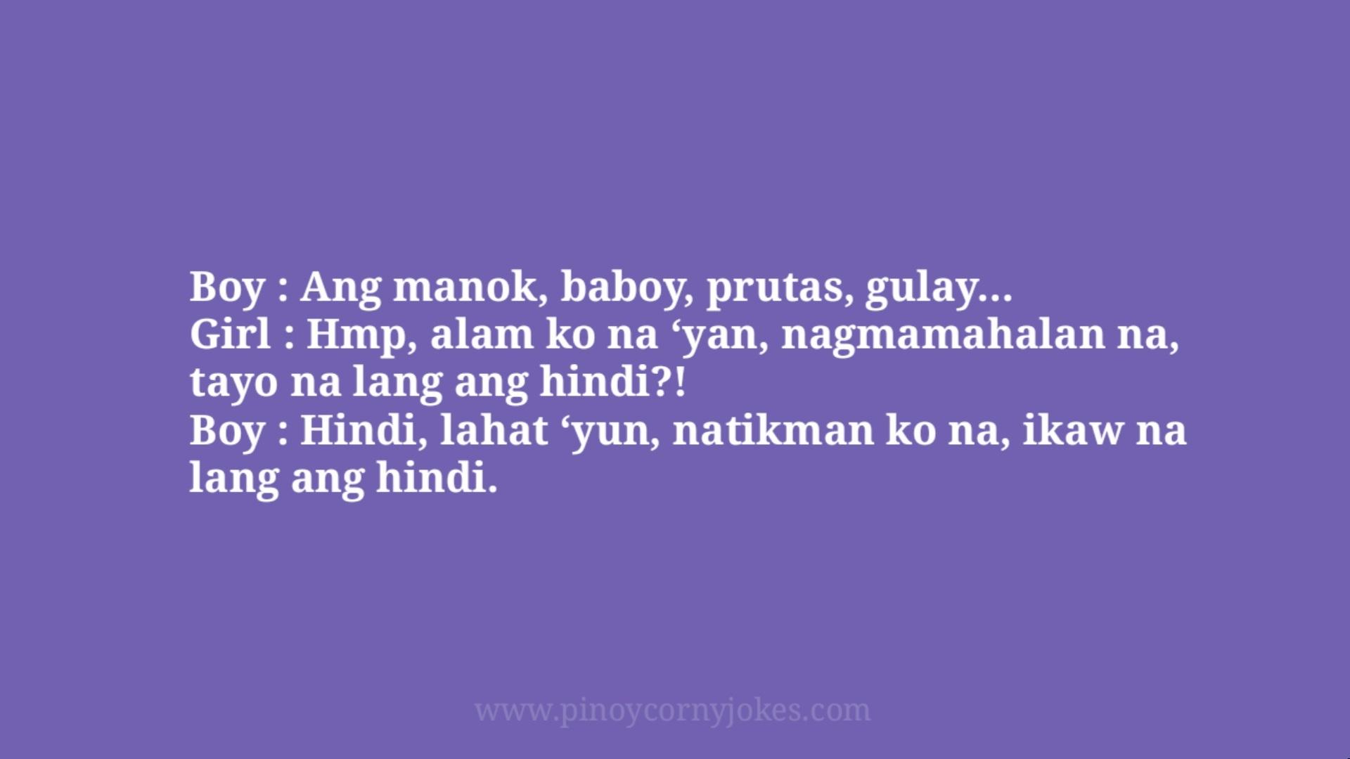 manok prutas tagalog corny jokes 2021 girl boy