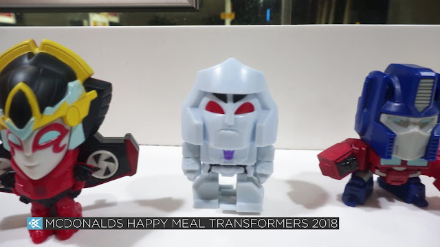 Unboxing McDonalds Philippines Happy Meal Transformers 2018