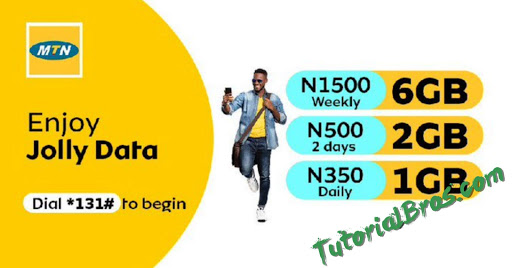 The new MTN Jolly Data plan, is a plan that  gives you  a whopping 6GB of Data for just