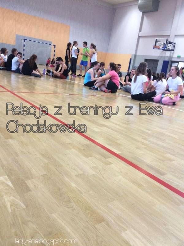 ~154 Relacja z treningu z Ewą Chodakowską