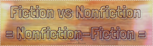 The Difference Between Books And Novels. Author vs Writer. Fiction - Nonfiction - Fiksi-Nonfiksi
