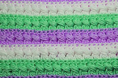 3 - CROCHET Imagen Puntada especial para mantas a crochet y ganchillo muy fácil y sencilla. MAJOVEL CROCHET