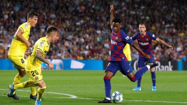 على الرغم من حصوله على الجنسية الإسبانية ، أنسو فاتي يمكنه الإنضمام إلى مباراة الكلاسيكو بين برشلونة وريال مدريد