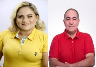 Cinthia e Erasmo são intimados para regularizar pendências sob risco de indeferimento das candidaturas