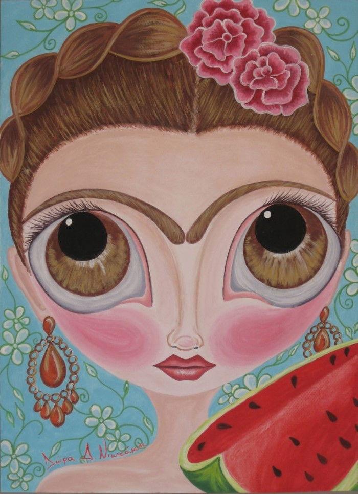 Греческий художник. Dora D. Niotaki