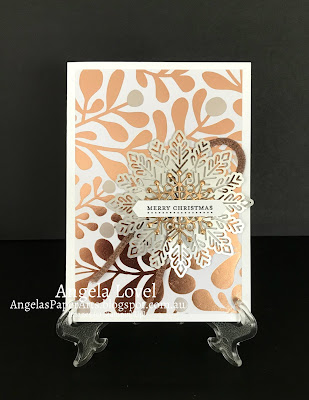 Stampin' Up! Year of Cheer Xmas by Angela Lovel, Angela's PaperArts