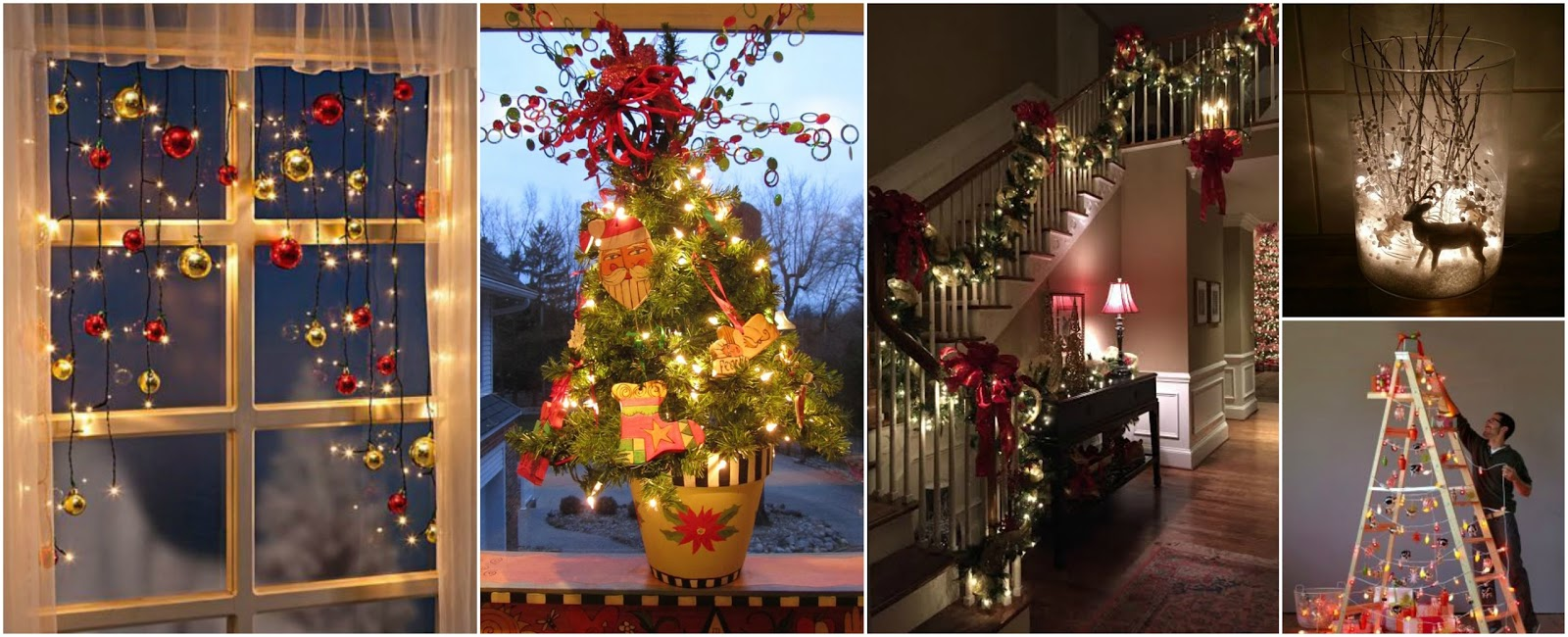 fde3ac2f38a 16 Ideas Espectaculares Para Decorar En Navidad Con Luces - Luces ...