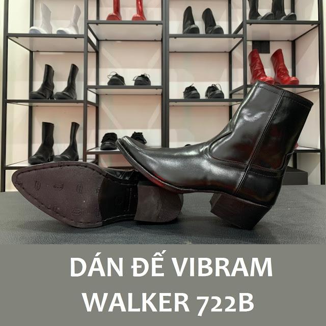 Walker 722B được dán đế Vibram soles Protector