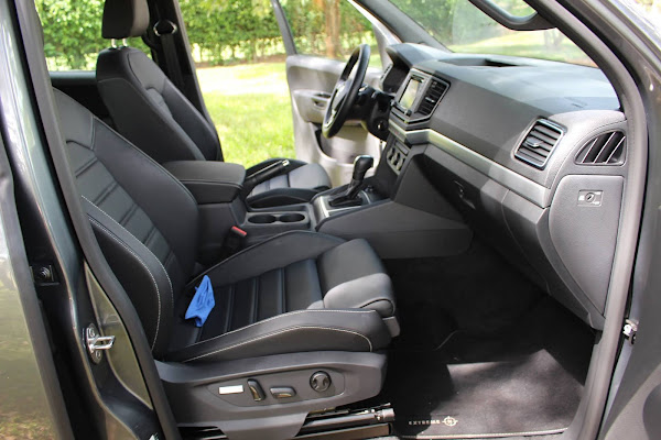 VW Amarok V6 - Bancos Dianteiros ErgoComfort