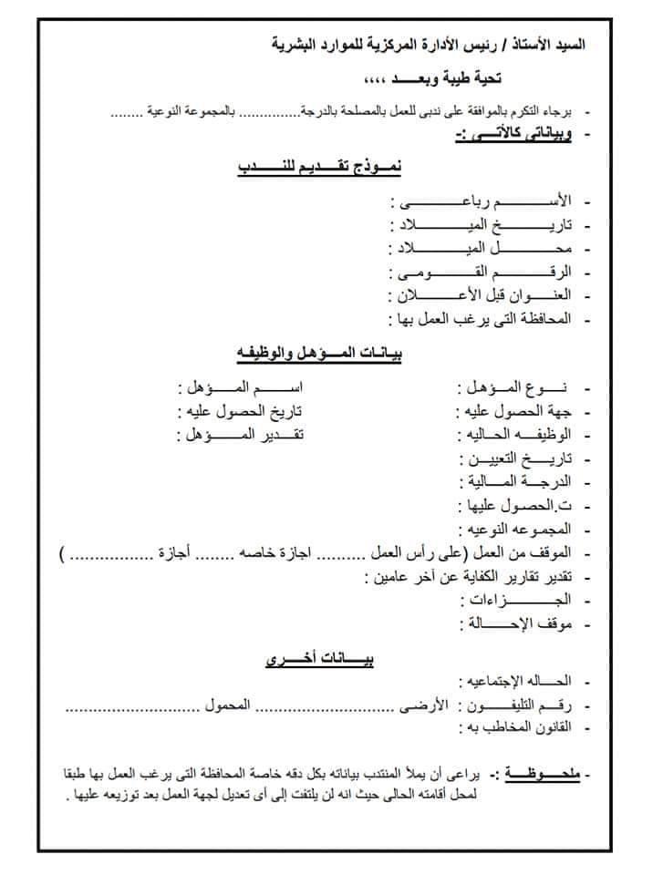 نموذج وطلب التقديم لاعلان وظائف مصلحة الجمارك المصرية 2019 تقدم الان