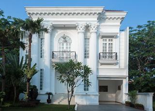 Kesan Mewah Pada Rumah Gaya Klasik 3