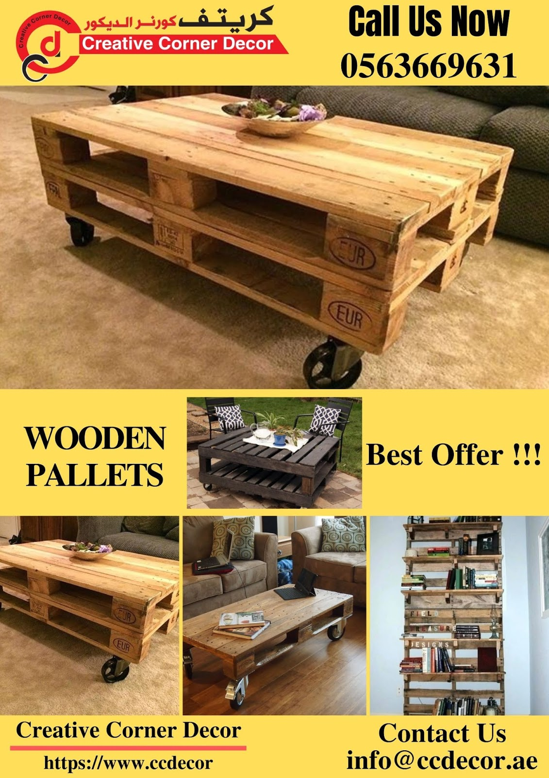 Wooden Pallets Suppliers in Dubai, Abu Dhabi, Sharjah ...